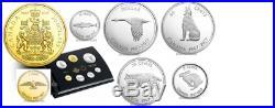 Canada Commemorative Pure Silver 7-Coin Proof Set 1967 Centennial Coins