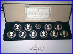 Canada Set of 10 1oz Silver $20 dollar Calgary Winter Olympic Coins