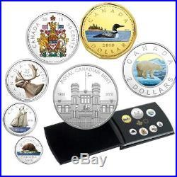 Classic Coins 2018 Canada Fine Silver Coloured Coin Set