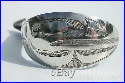 Coin Silver Spoon Northwest Coast Haida Indian Art Charles Edenshaw 1839-1920