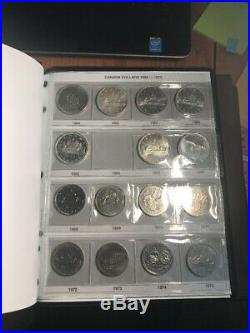 Complete Canada Silver Dollar Collections 59 Coins With Key Dates Going Fast