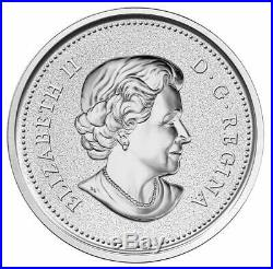 Farewell to the Penny 2012 Canada 1 cent 5 oz. Fine Silver Coin Only 1500 Made