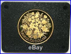 Goldmünze Gold 100 Dollars 1977 Canada Elizabeth-II Golddollar Silver Jubilee 19