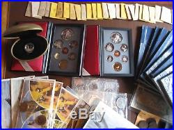 Large Canada Collection, Some Silver! Hundreds of Coins! Mint and Proof Sets, NR