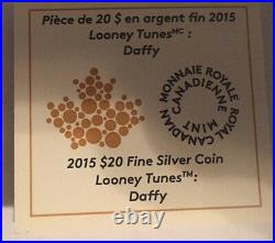 Looney Tunes 4-1 Oz. 999 Fine Silver Coin Set with Wrist Watch
