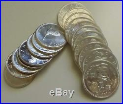 Lot of 20 Canada Silver Dollar Coins Various Dates -Over 12 Troy Ounces Silver