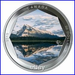 Mount Rundle Peter Mckinnon Photo Series 2019 $30 2 Oz Fine Silver Coin Rcm