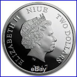 Niue 2017 1 OZ Silver Proof Coin- Lunar Year of the Rooster