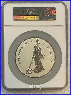 Official Mint Medal 10 oz 2019 CANADA PEACE & LIBERTY PF 70 RP Taylor/Mercanti