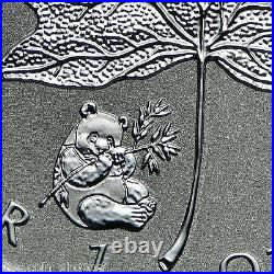 PANDA PRIVY 2016 10 X 1 oz SEALED Silver Maple Leaf Reverse Proof Coin IN STOCK