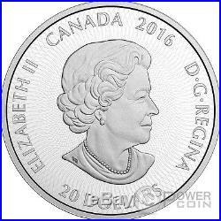 POLAR BEAR Canadian Kaleidoscope 1 Oz Silver Coin 20$ Canada 2016