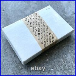 Perfectly sealed Box 5 x 1962 Canada Proof Like 1 Dollar Silver Coin One Dollar