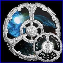 STAR TREK DEEP SPACE NINE 2018 $20 1 oz Fine Silver Coin