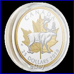 Sale Caribou Timeless Icons 2018 $25 1 Oz Fine Silver Coin Canada Rcm