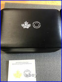 Stanley Cup Silver Coin Royal Canadian Mint Canada 3 Oz Pure