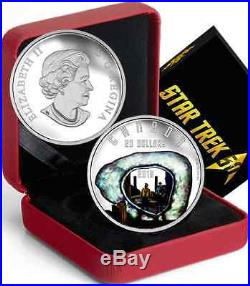 Star Trek $20 2016 1OZ Pure Silver Proof Coin THE CITY ON THE EDGE OF FOREVER