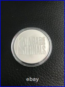 Toronto Raptors 2019 NBA Champions PURE SILVER 1 oz Coin Limited Edition Mint